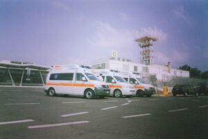 Preparati al servizio di ambulanza privata aereo-taxi – CROCE D'ORO